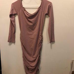 New Mauve mini dress